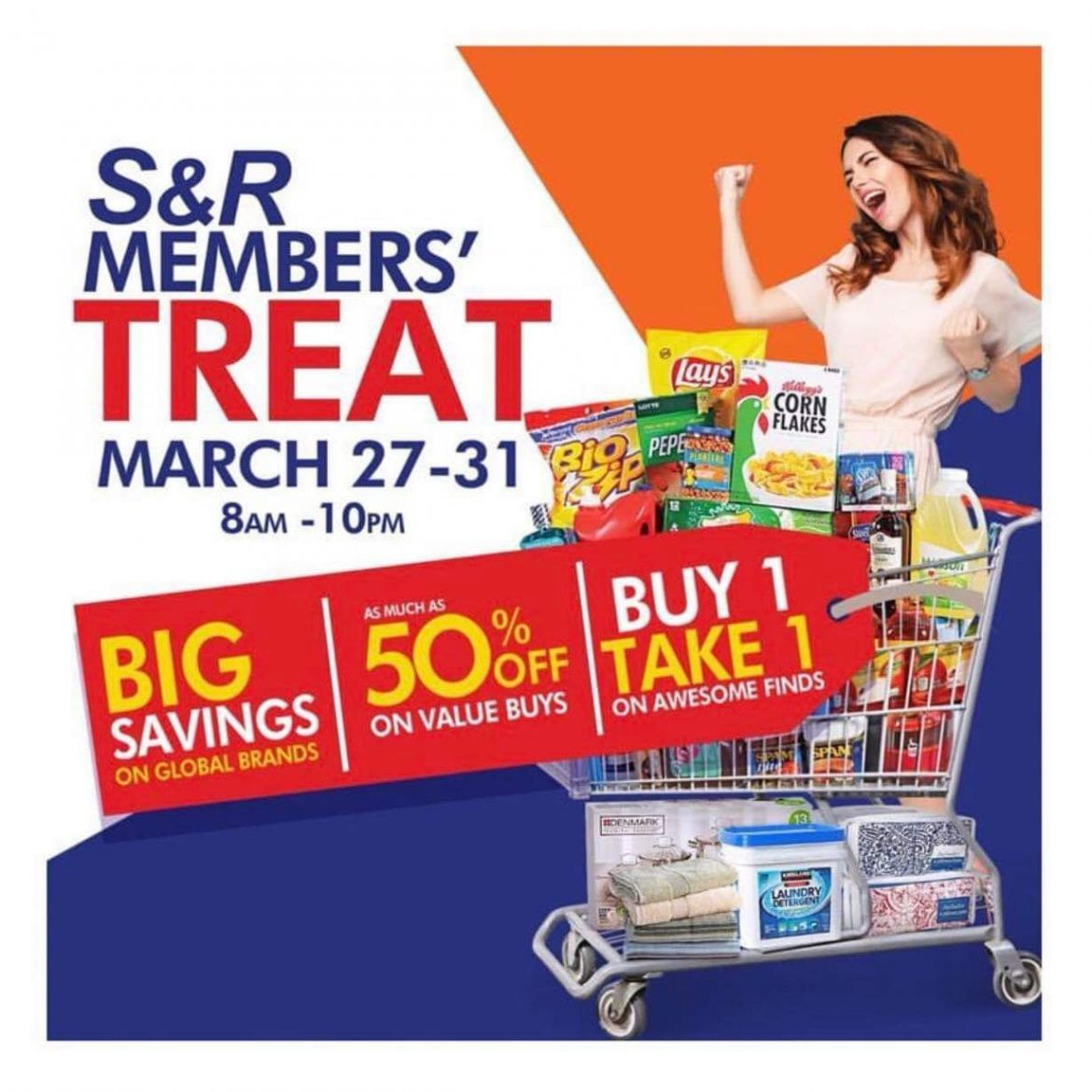 The S&R 5-day Member's Treat