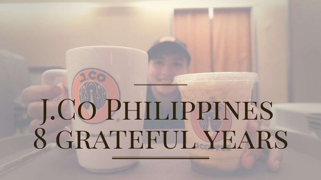 J.Co Philippines Celebrates 8 Grateful Years