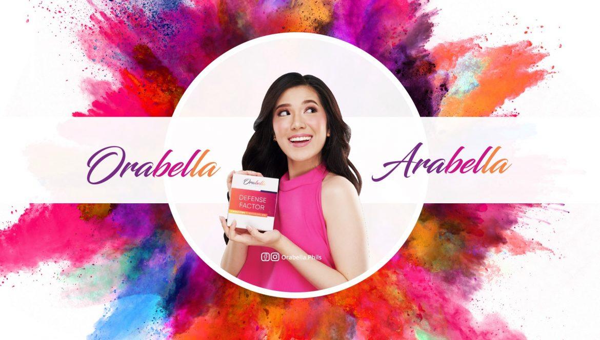 Arabella Del Rosario – The New Face of OrabellaPH