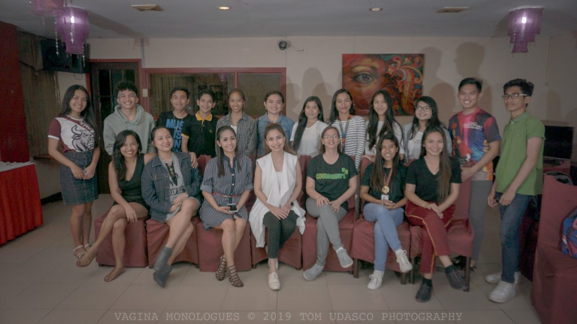 The Vagina Monologues in CDO Commemorates International Women's Month 2019
