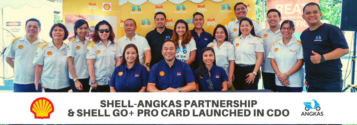 Shell and Angkas: A Partnership in Making Bikers' Journeys Better