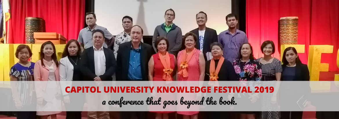 Capitol University's Knowledge Festival 2019